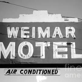 Connie Fox - Weimar Motel Sign
