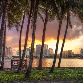 Debra and Dave Vanderlaan - West Palm Beach Skyline