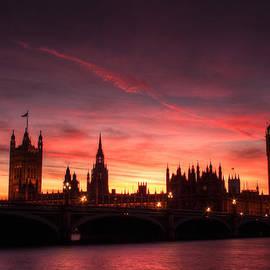 Stuart Gennery - Westminster Sunset