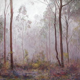 Lynda Robinson - Winter at Wickham