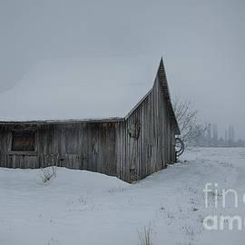 Idaho Scenic Images Linda Lantzy - Winter Barn