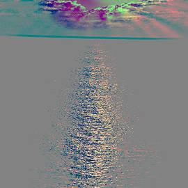 Dave Byrne - Abstract Sun Set Gran Cayman