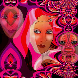 Irmgard Schoendorf Welch - 1082 Pink Lady  Fractal