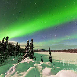 Stephan Pietzko - Intense display of Northern Lights Aurora borealis