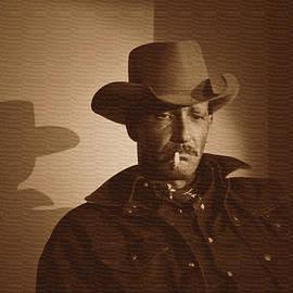 Mike Davis - Micks Pix Photos - 121111-1 Portrait Of An American Cowboy