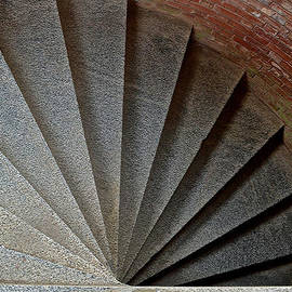 Bill Owen - 1861 Fort Point Tower Stairs San Francisco Bay