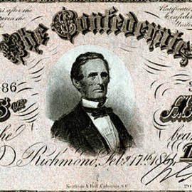Historic Image - 1864 Confederate Fifty Dollar Note