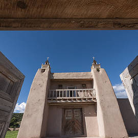 David Litschel - 18th Century Church Las Trampas NM