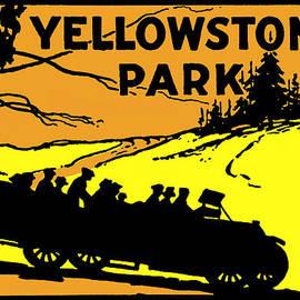 Historic Image - 1920 Yellowstone Park