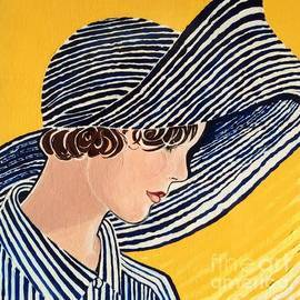 Barbara Chase - 1920s Picture Hat