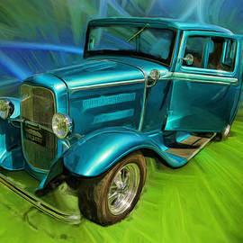 Blake Richards - 1931 Ford Saint Window