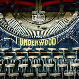 Paul Ward - 1932 Underwood Typewriter