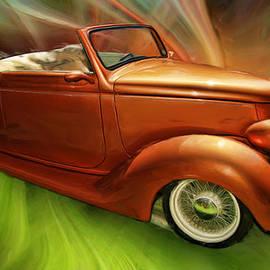 Blake Richards - 1936 Ford Cabriolet