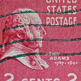 Bill Owen - 1938 John Adams Stamp