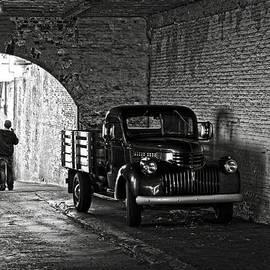 RicardMN Photography - 1940 Chevrolet pickup truck in Alcatraz Prison