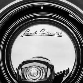 Jill Reger - 1941 Lincoln Continental Spare Tire Emblem - 1963BW