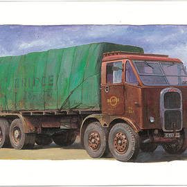 Mike  Jeffries - 1947 Scammell R8