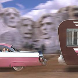 Mike McGlothlen - 1950s Family Vacation Panoramic