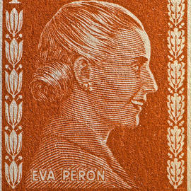 Bill Owen - 1952 Eva Peron Argentina Stamp