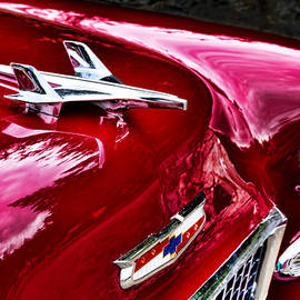 Peggy Collins - 1955 Chevy Bel Air Hood Ornament