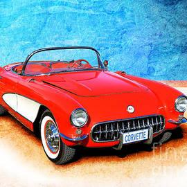 Stuart Row - 1956 Corvette