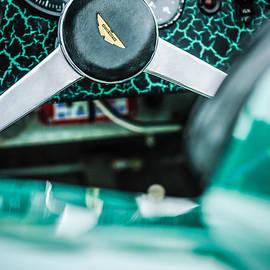 Jill Reger - 1957 Aston Martin DBR2 Steering Wheel Emblem -2345C