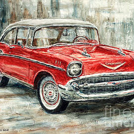 Joey Agbayani - 1957 Chevrolet Bel Air Sport Coupe