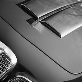Jill Reger - 1959 Alfa Romeo 2000 Spider Grille Emblem -0482bw