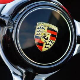 Jill Reger - 1960 Porsche 356 B Roadster Steering Wheel Emblem