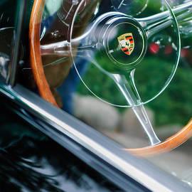 Jill Reger - 1964 Porsche 356 C Cabriolet Steering Wheel Emblem