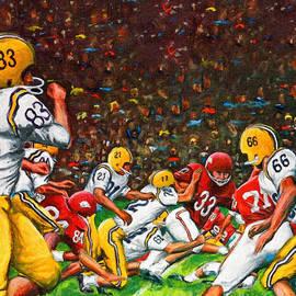 Big 88 Artworks - 1966 Cotton Bowl LSU vs. Arkansas