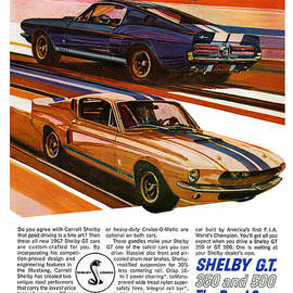 Digital Repro Depot - 1967 Ford Mustang Shelby GT350 and GT500