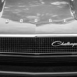 Jill Reger - 1970 Dodge Challenger RT Convertible Grille Emblem -0545bw