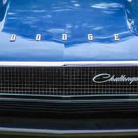 Jill Reger - 1970 Dodge Challenger RT Convertible Grille Emblem -0545c