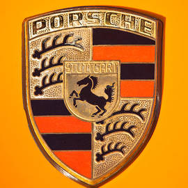 Jill Reger - 1970 Porsche 911 E 2.2 Coupe Sportomatic Emblem - 1029c45