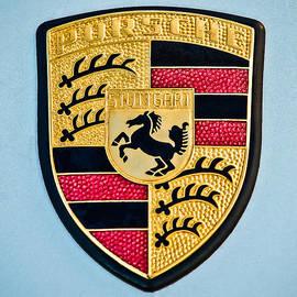 Jill Reger - 1970 Porsche 911 S Emblem - 0513c45