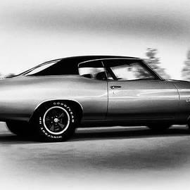 Bill Cannon - 1971 Chevelle Super Sport in Black and White