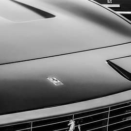 Jill Reger - 1971 Ferrari 365 GTC-4 Grille Emblem -1541bw