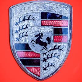 Jill Reger - 1971 Porsche 911 T Emblem - 0471c45