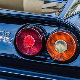 Jill Reger - 1980 Ferrari 308 GTSi Taillight Emblem -0027c