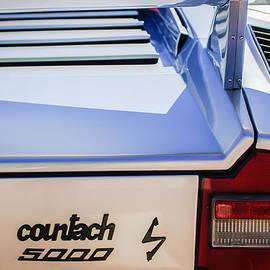 Jill Reger - 1982 Lamborghini Countach 5000S Taillight Emblem -0453c