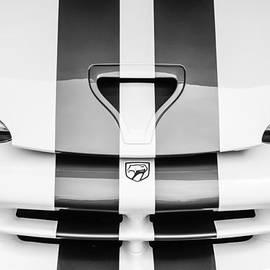 Jill Reger - 1998 Dodge Viper GTS-R Grille Emblem -0329bw