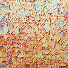 Mark Weaver - Abstract  Rust And Metal Series