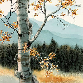 Frank Townsley - Birch bark
