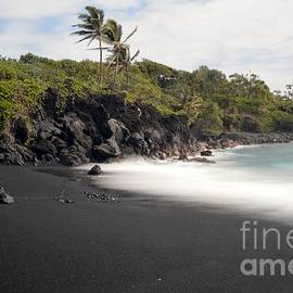 Janice DeLawter - Black sand beach