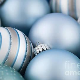 Elena Elisseeva - Blue Christmas ornaments