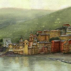 Nan Wright - Camogli Italy
