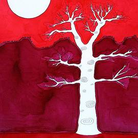 Sol Luckman - Canyon Tree original painting