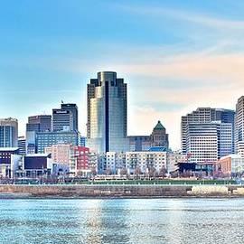 Frozen in Time Fine Art Photography - Cincinnati Panoramic View