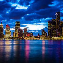 Cindy Lindow - Detroit Skyline